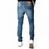 Зауженные джинсы мужские Franco Benussi 18-104 синие, фото 3