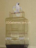 Клетка Вольер для попугая Жако, Корелла.100(80)*52*42 см Фото