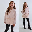 Пальто с меховой отделкой для девочек Размеры 128- 158 Новинка!, фото 2