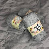 Пряжа для вязания 100% хлопок Creme de la Creme Yarn - Grey