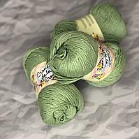 Пряжа для вязания 100% хлопок Creme de la Creme Yarn - Spruce