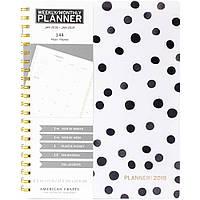 Планер American Crafts - Weekly/Monthly Planner 21X28см