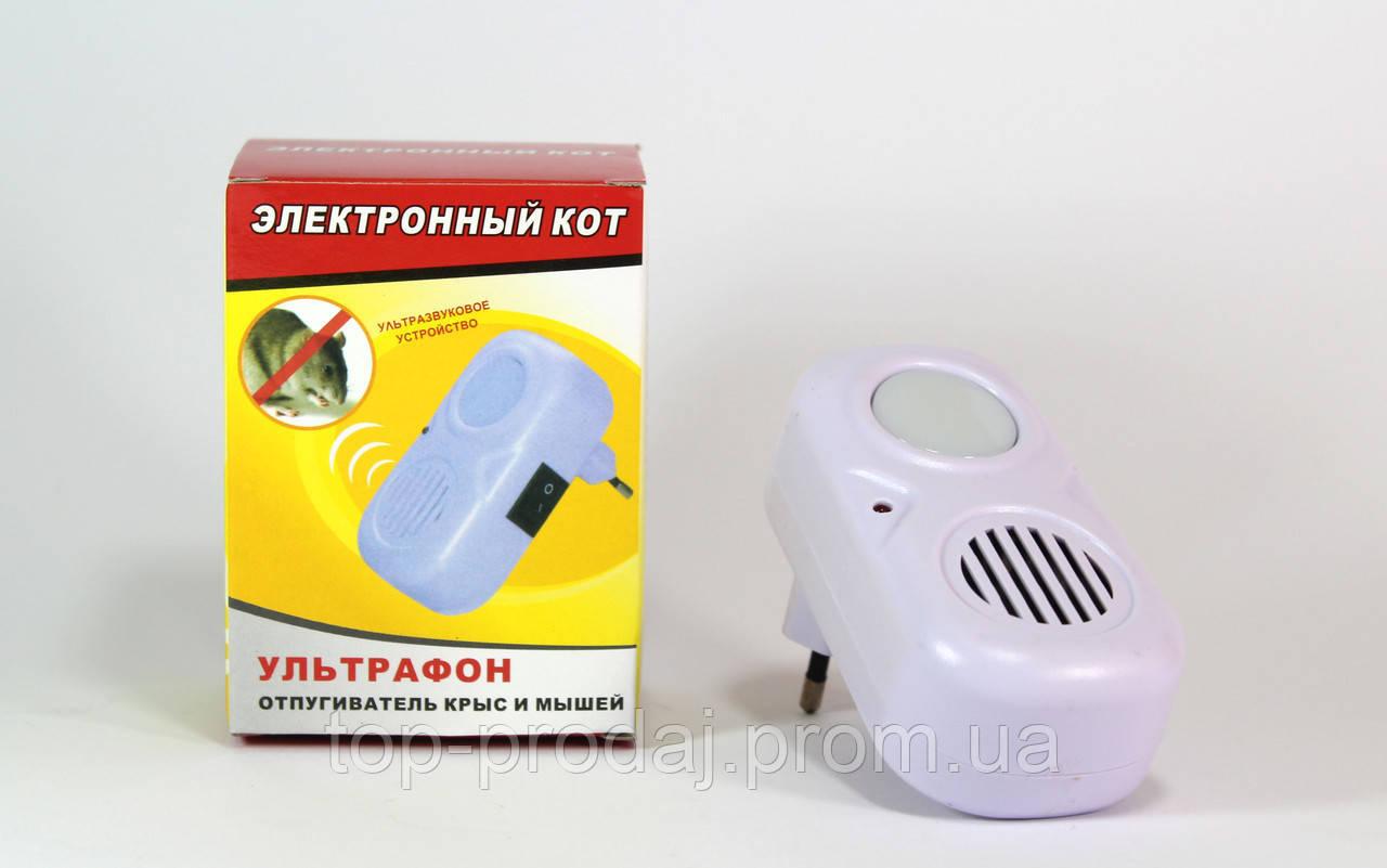 Отпугиватель сробоскоп Pest repeller light арт. 5052, Отпугиватель крыс и мышей, Ультразвуковой отпугиватель