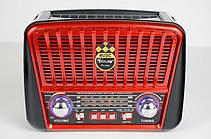 Радіоприймач GOLON RX-455S FM/AM/SW, MP3 USB microSD(TF), LED ліхтарик, Solar, фото 2
