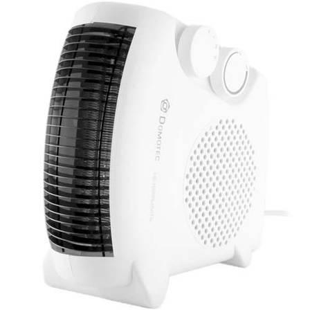 Тепловентилятор Domotec DT-3300 обогреватель дуйчик напольный електрический белый, фото 2