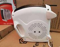 Тепловентилятор Domotec DT-3300 обогреватель дуйчик напольный електрический белый, фото 3
