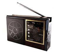 Радио RX 9922, Радиоприемник, Радио на батарейках, Портативное радио аккумуляторное, FM радио динамик, фото 1