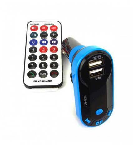 Автомобильный bluetooth mp3 модулятор FM I-9, фото 2