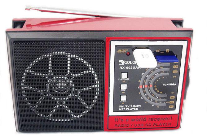 Радиоприемник GOLON RX-002 UAR USB+SD