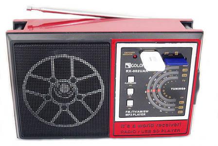 Радиоприемник GOLON RX-002 UAR USB+SD, фото 2