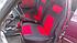 Чохли сидінь Таврія, Славута з червоними вставками, фото 6