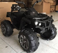 Детский квадроцикл на аккумуляторе Tilly T-733, цвет черный