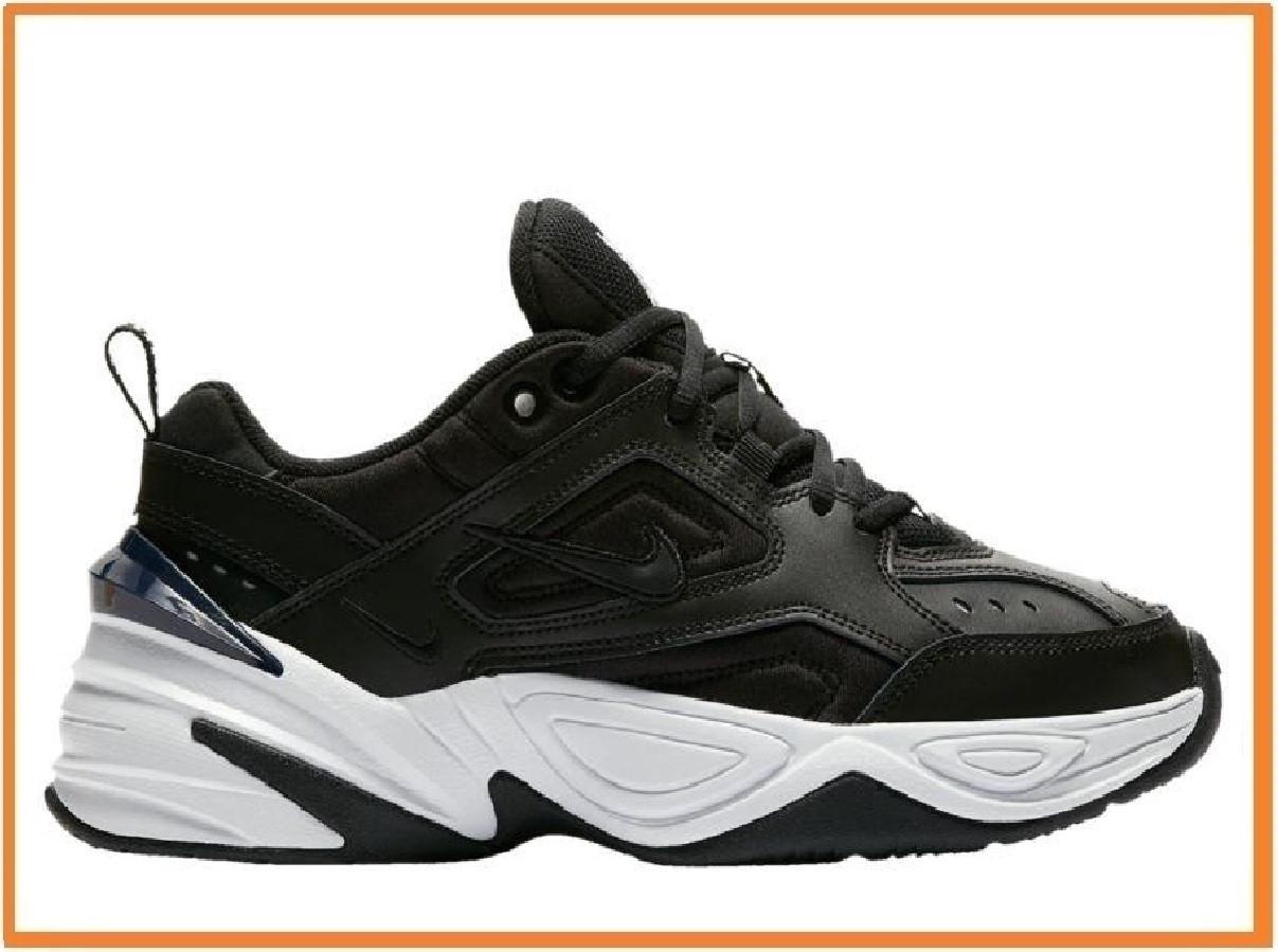 0f575677 Мужские кроссовки Nike M2K Tekno Black White (найк мк 2 текно, черные /  белые
