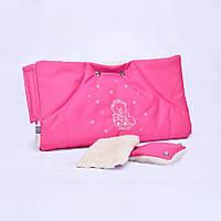 Муфта на коляску 0315 розовая