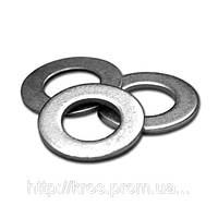 Шайба DIN125 плоская, нержавеющая сталь