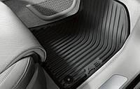 Коврики в салон оригинальные для  Audi A8 2010-2017, передние 2шт 4H1061501041