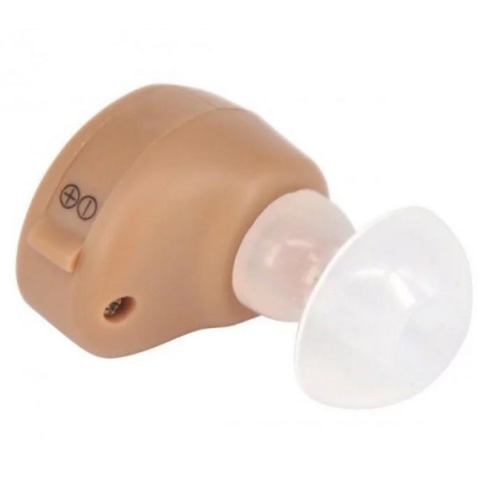 Міні слуховий внутрішньовушний апарат Xingma 900A з боксом для зберігання