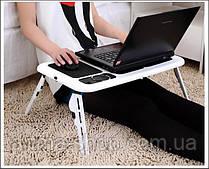 Подставка для ноутбука охлаждающая столик с двумя USB кулерами