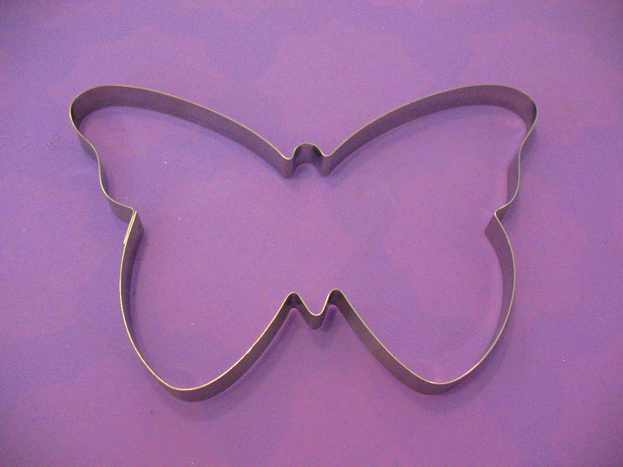 Вырубка для пряников Бабочка большая