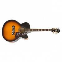 Электроакустическая гитара Epiphone EJ-200SCE Ретро Sunburst