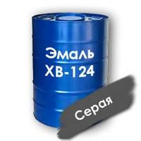 Эмаль ХВ-124  химстойкая, срок службы до 6 лет (серая)