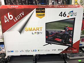 Телевизор Smart LED TV 46 дюймов Т2, фото 2