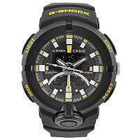 Часы наручные G-Shock GA-500 Black-Yellow