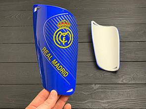 Щитки для футбола  Реал Мадрид синие 1100(реплика)