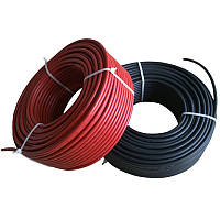 Солнечный кабель HIS HIKRA® PLUS черный, 1×6 mm², бухта 500 м
