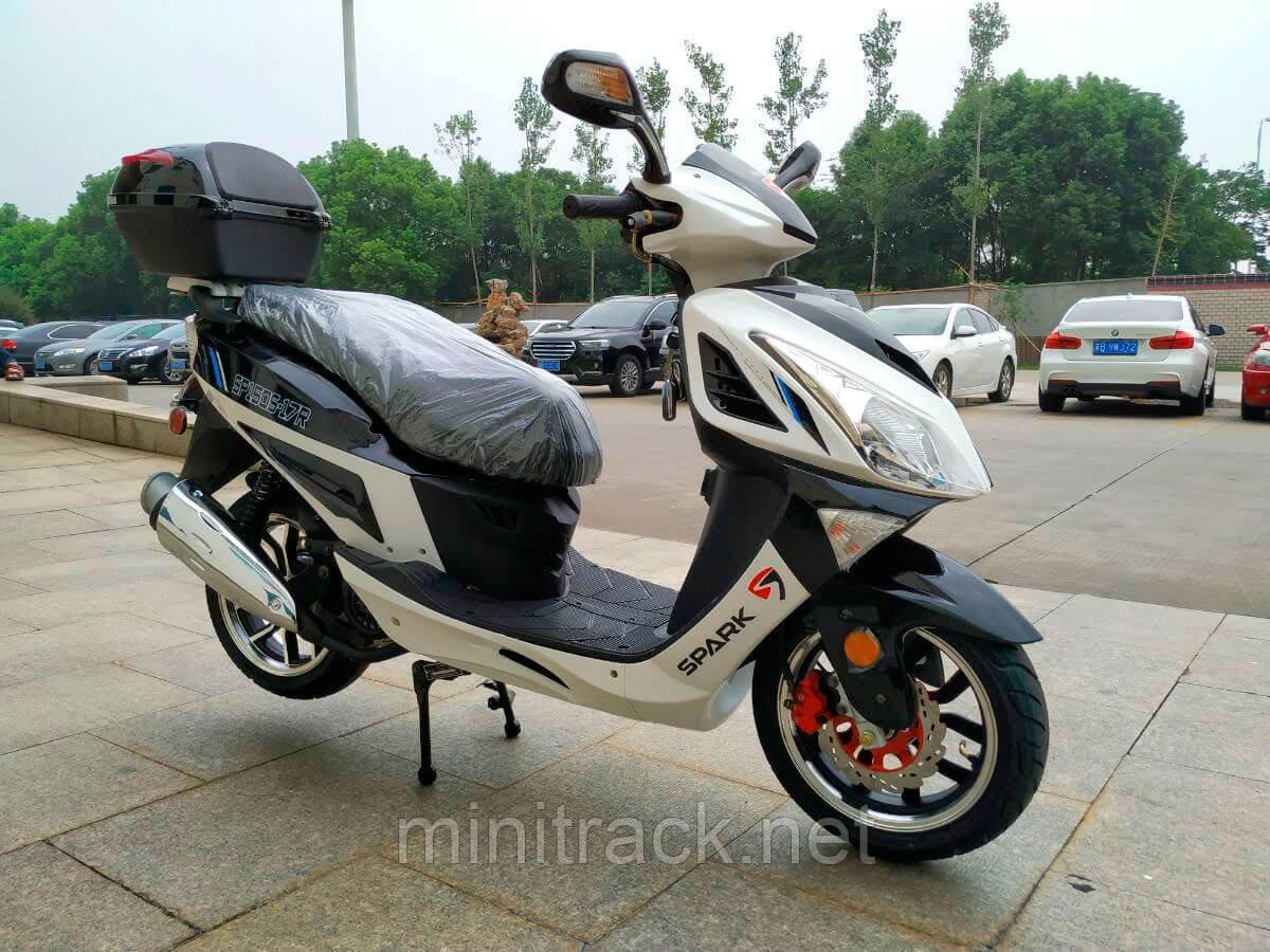 Скутер, SPARK SP150S-17R, 150 см³
