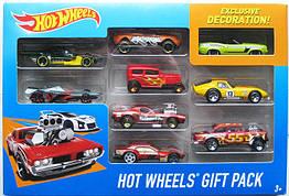 Хот Вилс Набор из 9-ти машинок Hot Wheels Track Car