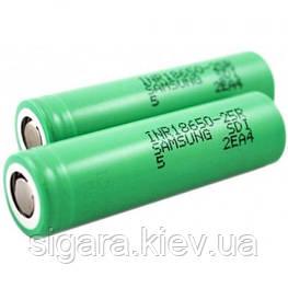 Samsung 18650 2500mAh INR 25R (20A)