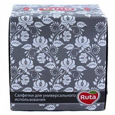 Салфетки косметические Ruta имидж, куб, 80 листов, 1 пачка