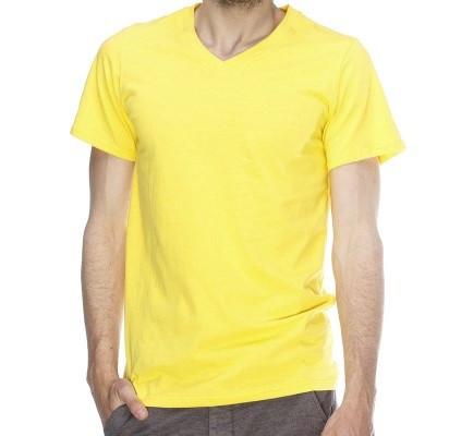 Футболка мужская Lefties yellow размер L