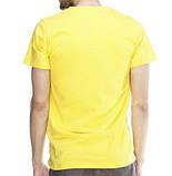 Футболка мужская Lefties yellow размер L, фото 2