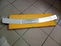 Накладка на бампер Dodge CALIBER с 2006- (Nataniko)