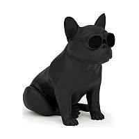 Собака колонка Bluetooth колонка Bulldog Speaker Aerobull К22 средний размер / Черный/ Красный/ Белый