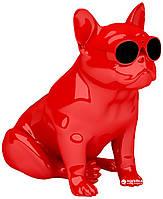 Собака колонка Bluetooth колонка Bulldog Speaker Aerobull m11 самый большой размер / Черный/ Красный/ Белый