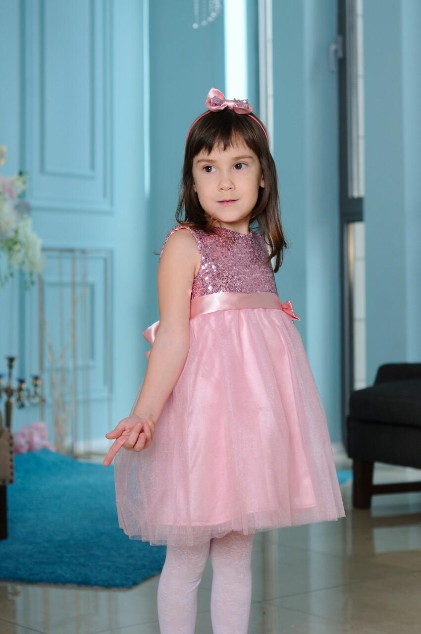 4698d0db78e Романтичное платье с пайетками для девочек  продажа