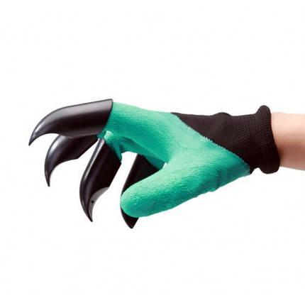 Перчатка для сада Garden Genie Gloves с когтями, фото 2