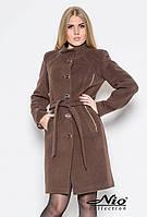Стильное демисезонное кашемировое пальто NIO Анжела