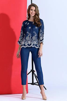 Модный джинсовый костюм, фото 2
