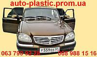 Передний бампер ГАЗ 31105 цвет ТИГРИНЫЙ ГЛАЗ(темно-желтый металлик), №27Заводской