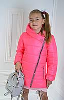 Р-р 128, Курточка для девочки куртка  детская демисезонная, весенняя, осенняя