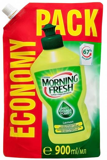 Засіб для миття посуду Morning Fresh Лимон (900 мл) дой-пак