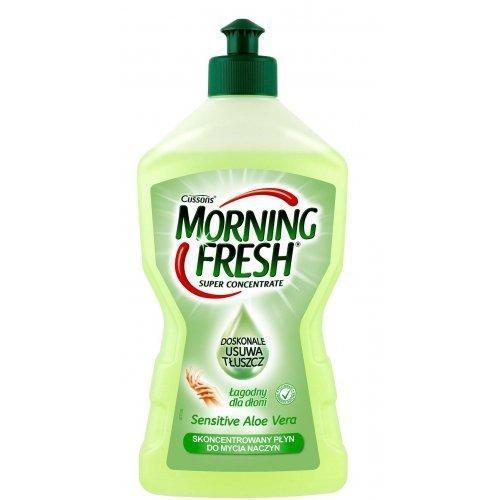 Средство для мытья посуды Morning Fresh Sensitive Алоэ (450 мл.)