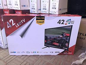 Телевизор LED TV 32 дюйма Т2, фото 3