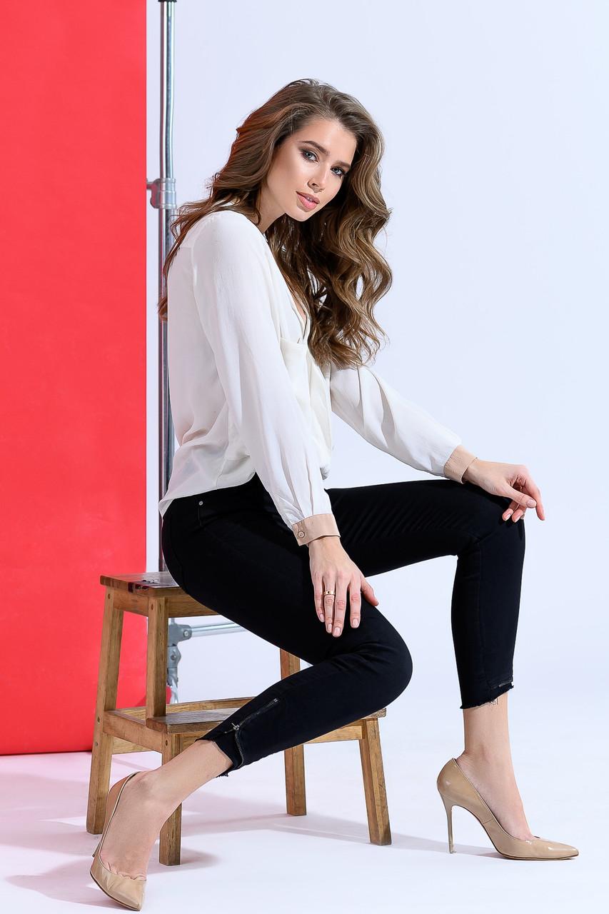 Практичные джинсы комфортные в носке
