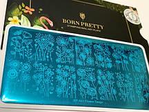 Пластина для стемпинга Born Pretty  BP-А01