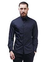 Рубашка с вышивкой на груди S-102-1